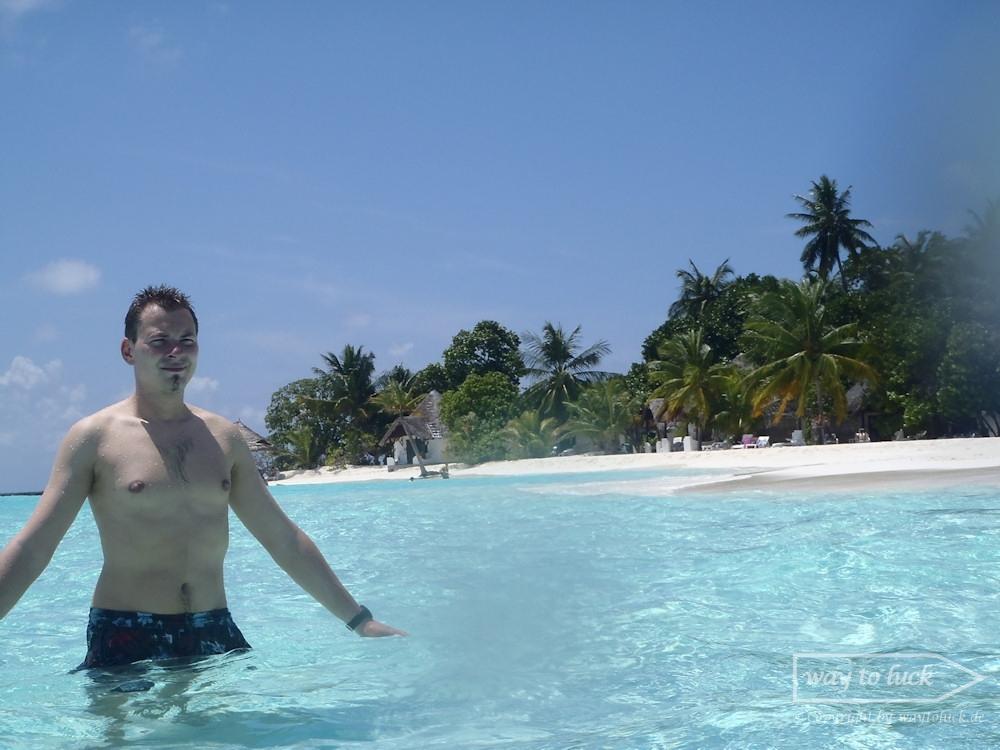 Patrick im Wasser