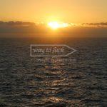 Sonnenaufgang Mittelmeer