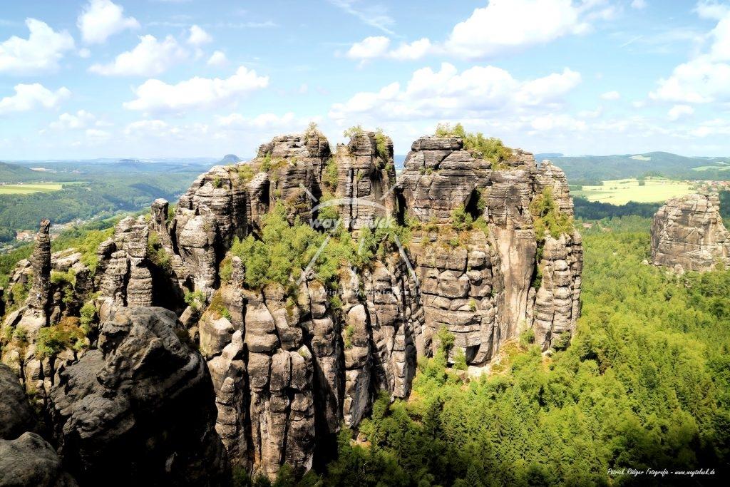 Abenteuer Wanderung Video Elbsandsteingebirge Sächsische Schweiz Schrammsteinaussicht