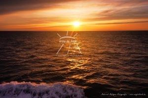 Sonnenuntergang Mittelmeer Welle Meeresrauschen